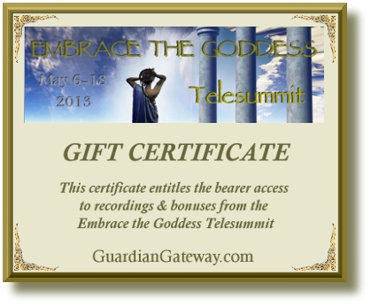 Embrace the Goddess Gift certificatefor sales pageSMALL PLUS DROPSHADOW