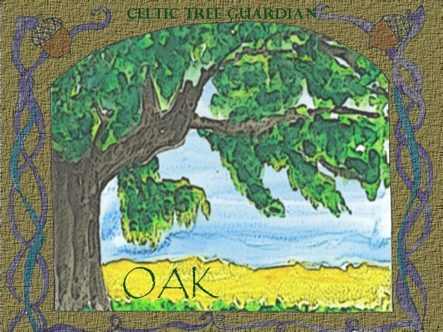 Celtic Tree Guardian – Oak