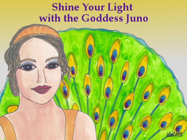Shine Your Light With the Goddess Juno