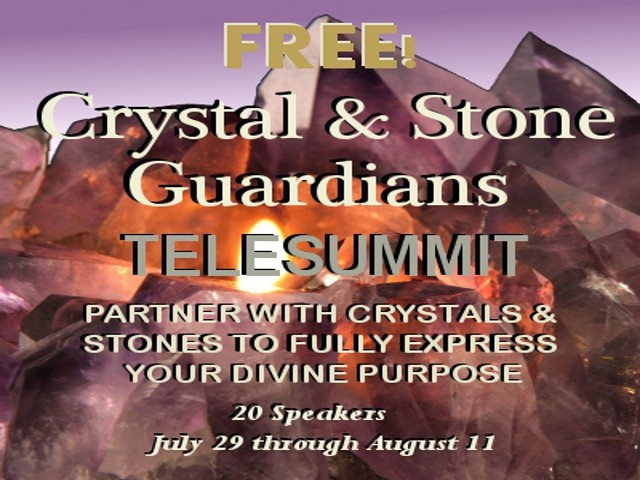 FREE! Crystal & Stone Guardians Telesummit