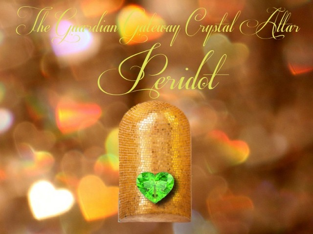 The Crystal Altar – Peridot