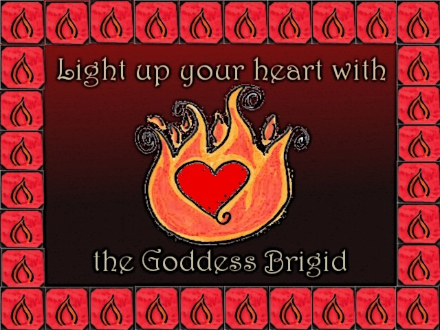 Light up your heart with the Goddess Brigid
