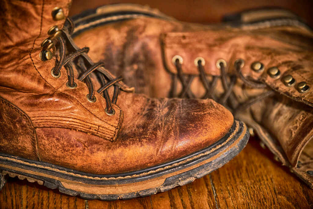 Old workboots