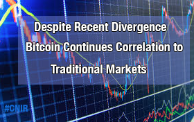 Despite Recent Divergence, Bitcoin Continues Correlation to Traditional Markets