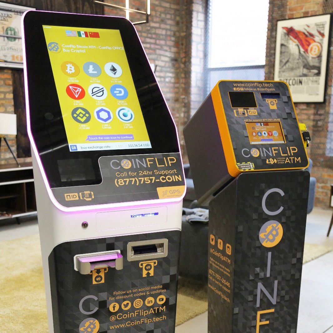 CoinFlip Places Three Bitcoin ATMs in Alaska