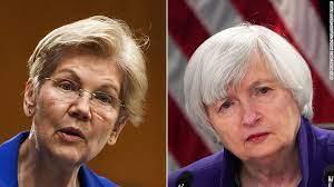 "Senator Elizabeth Warren To U.S. Treasury Janet Yellen ""ACT WITH URGENCY"" to Mitigate Crypto Risks"