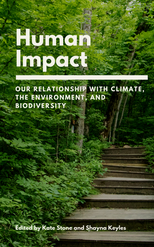 Human Impact: Our Relationship with Climate, the Environment, and Biodiversity (book cover)