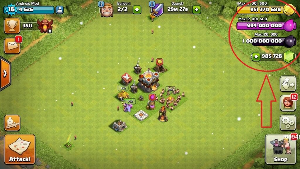 Clash of Clans Cheats and Hack Tool
