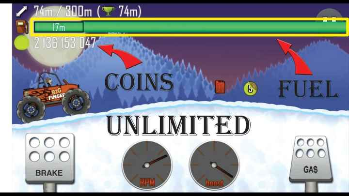 Hill Climb Racing mod Apk hack