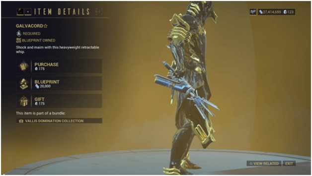 Warframe Whip