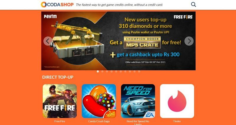 How to top up Free Fire Diamonds from Games Kharido and Codashop in India (2021)