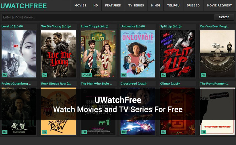 UWatchFree 2021 – Download and Watch Movies and TV Series Online Free