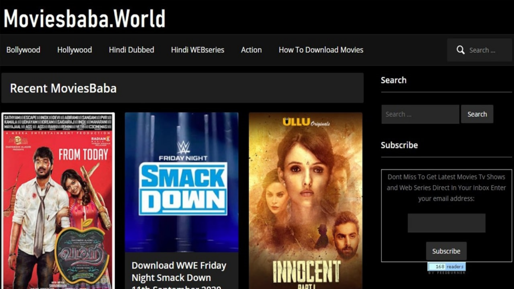 MoviesBaba 2021: Download Free Latest Bollywood, Tollywood Movies HD