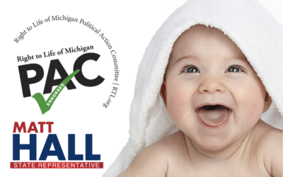 Matt Hall Receives The Sole Endorsement of Right to Life Michigan PAC