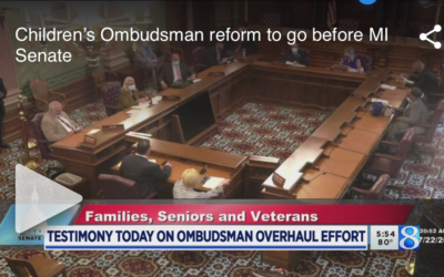 Children's Ombudsman Reform to Go Before MI Senate