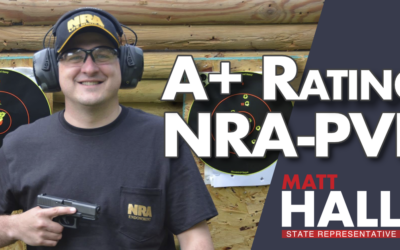 Matt Hall Receives A+ From NRA-PVF
