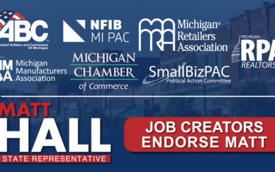 Job Creators Endorse Matt Hall for State Rep!