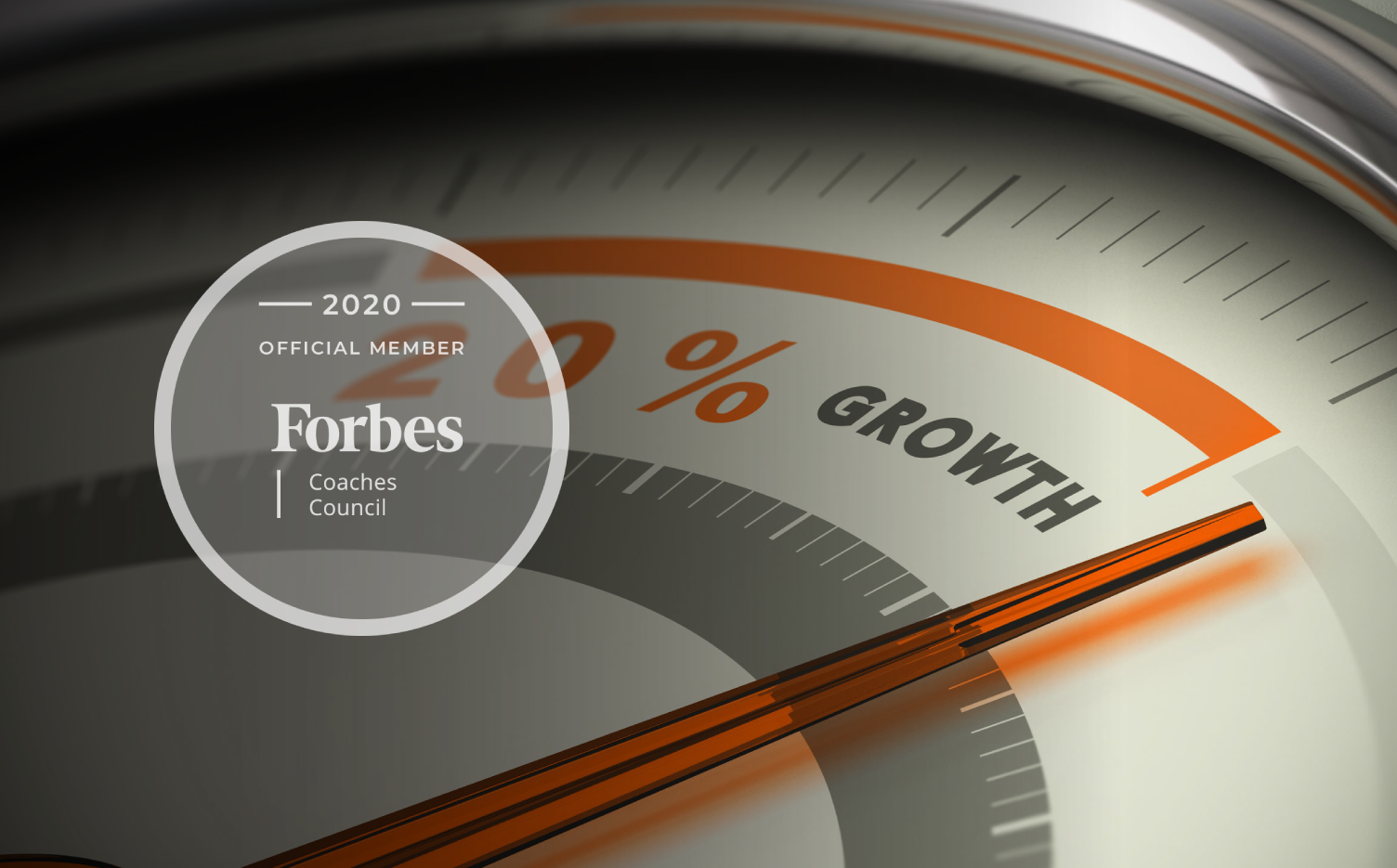 Jon Dwoskin Forbes Coaches Council Article: Ten Ways To Grow Your Sales, Starting Now - image of growth gauge