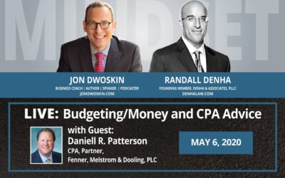 Jon Dwoskin and Randall Denha LIVE: Budgeting/Money and CPA Advice with Guest Daniell R. Patterson