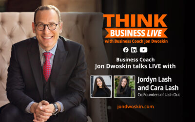 THINK Business LIVE: Jon Dwoskin Talks with Jordyn Lash and Cara Lash, Co-Founders of Lash Out