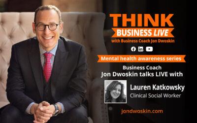 THINK Business LIVE: Jon Dwoskin Talks with Lauren Katkowsky