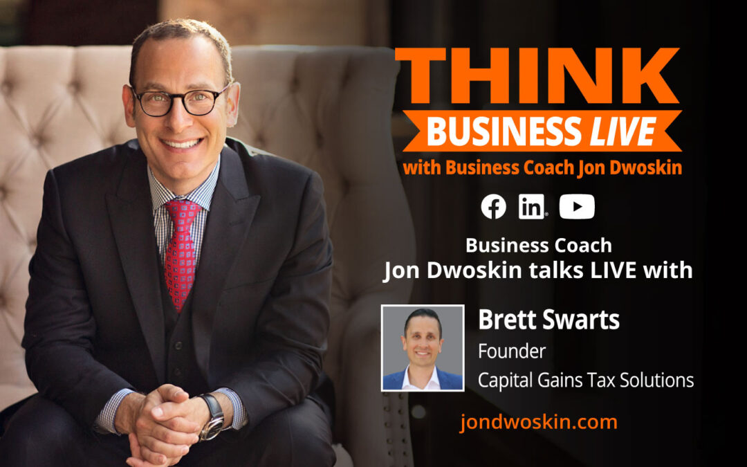 THINK Business LIVE: Jon Dwoskin Talks with Brett Swarts