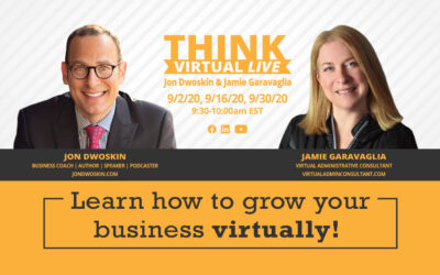 THINK Virtual LIVE: Jon Dwoskin and Jamie Garavaglia Discuss Scaling Your Business