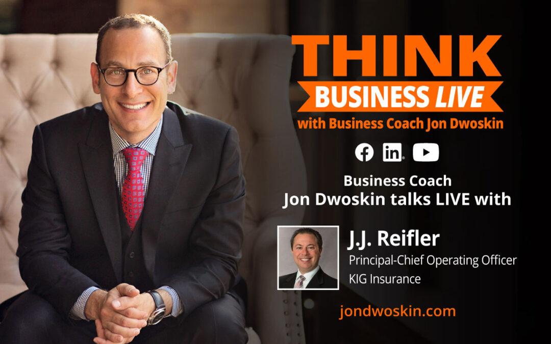 THINK Business LIVE: Jon Dwoskin Talks with J.J. Reifler