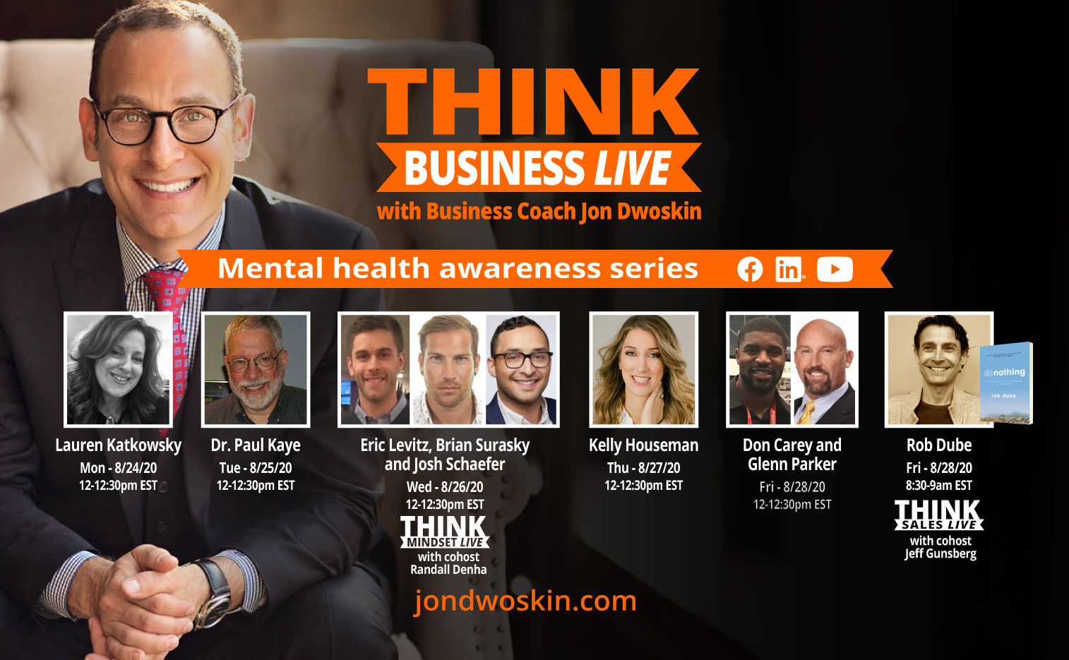 THINK Business LIVE: Mental Health Awareness Series