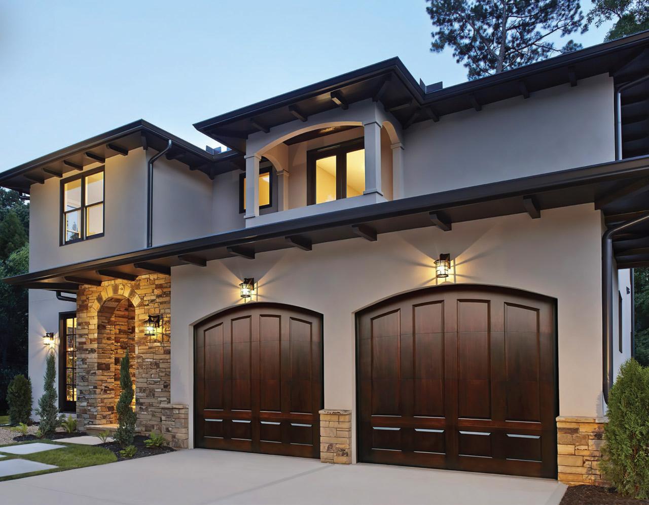 Modern Handcrafted Garage Door