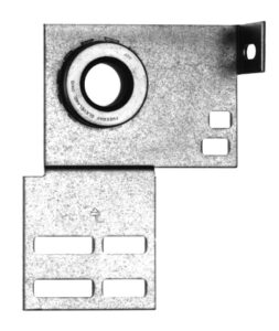 End Bearing With Flange