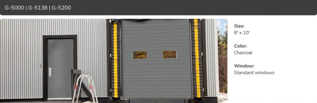 G-5000, 8x10, Charcoal, Standard Windows