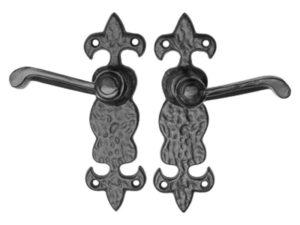 Hammered Iron Fleur