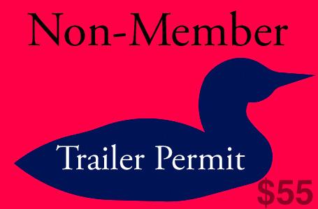Non-member trailer permit
