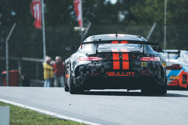 Andy Meyrick Brands Hatch Bullitt Racing GT4 Mercedes AMG 2019