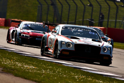 Number 31 Bentley GT3 Andy Meyrick Team Parker Racing