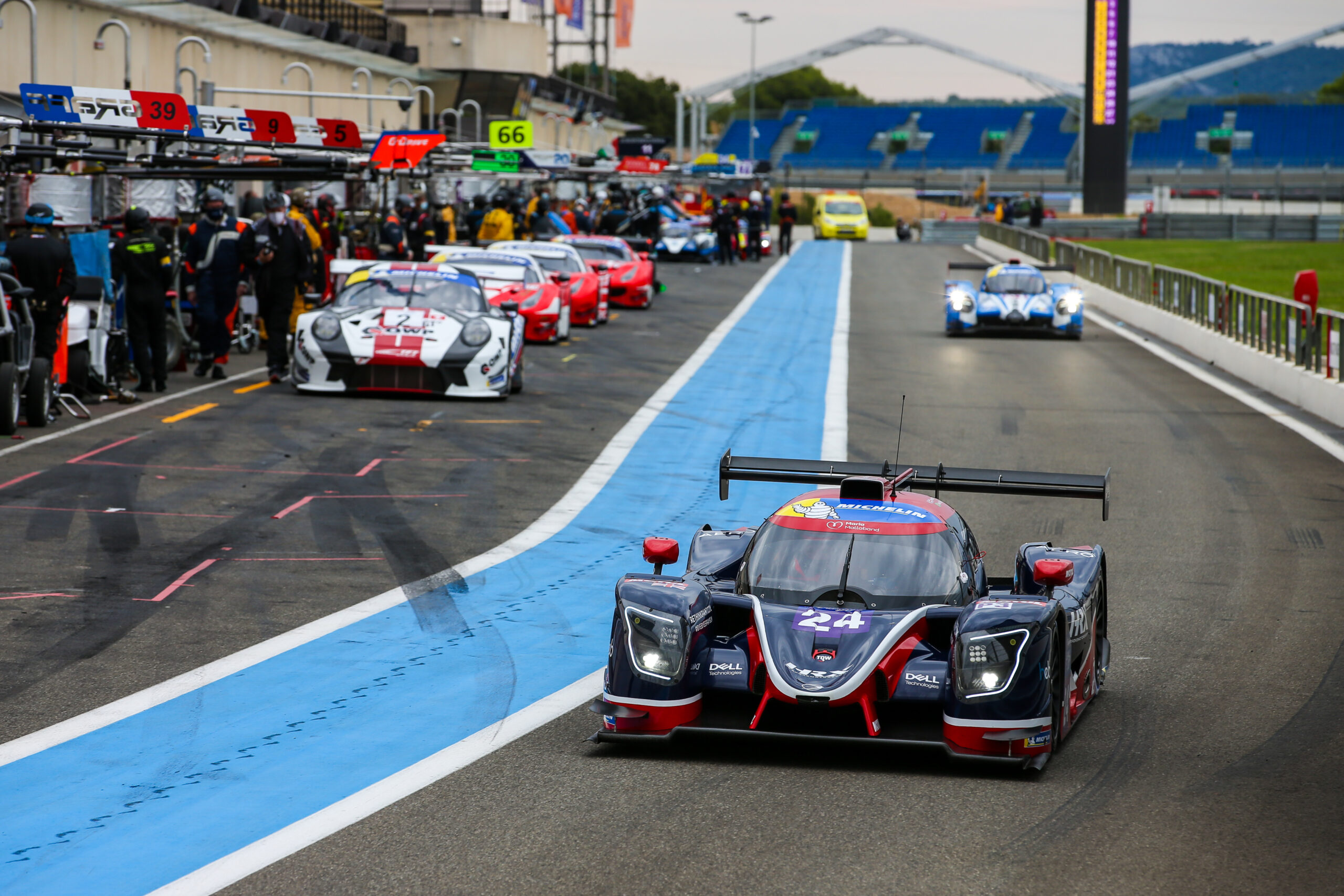 Meyrick Takes First Podium of Season for United Autosports in Michelin Le Mans Cup