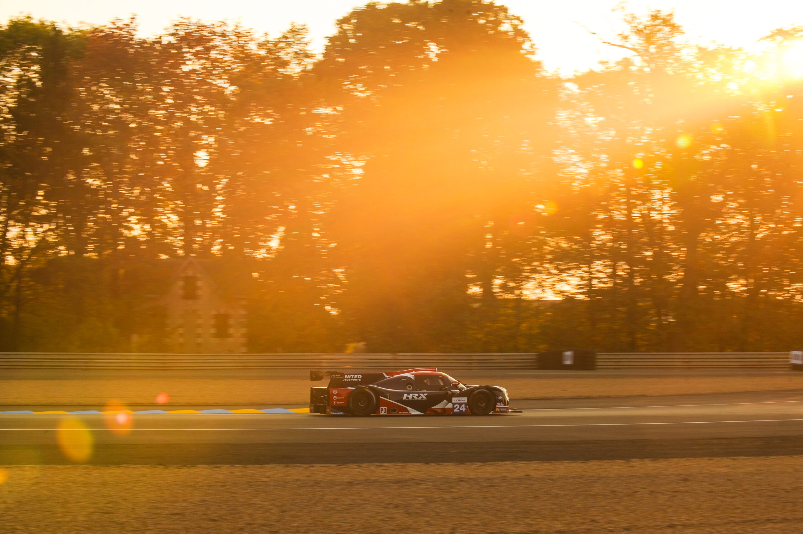 Hard-charging Meyrick Finishes Fourth in Road to Le Mans Thriller
