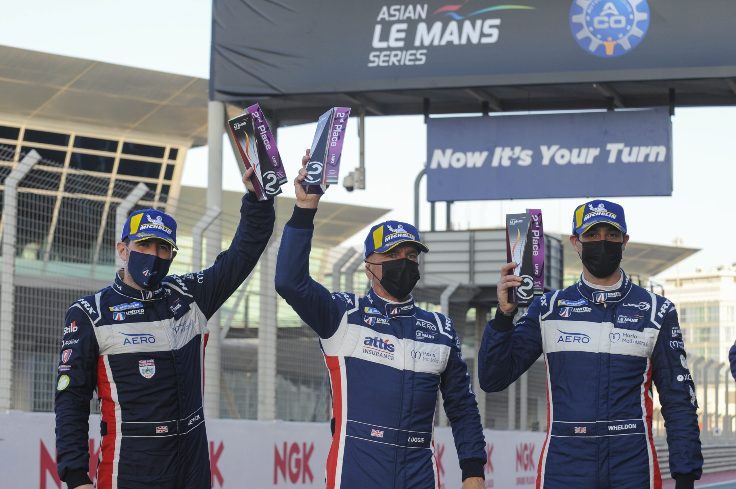Meyrick on the podium in debut Asian Le Mans Series weekend