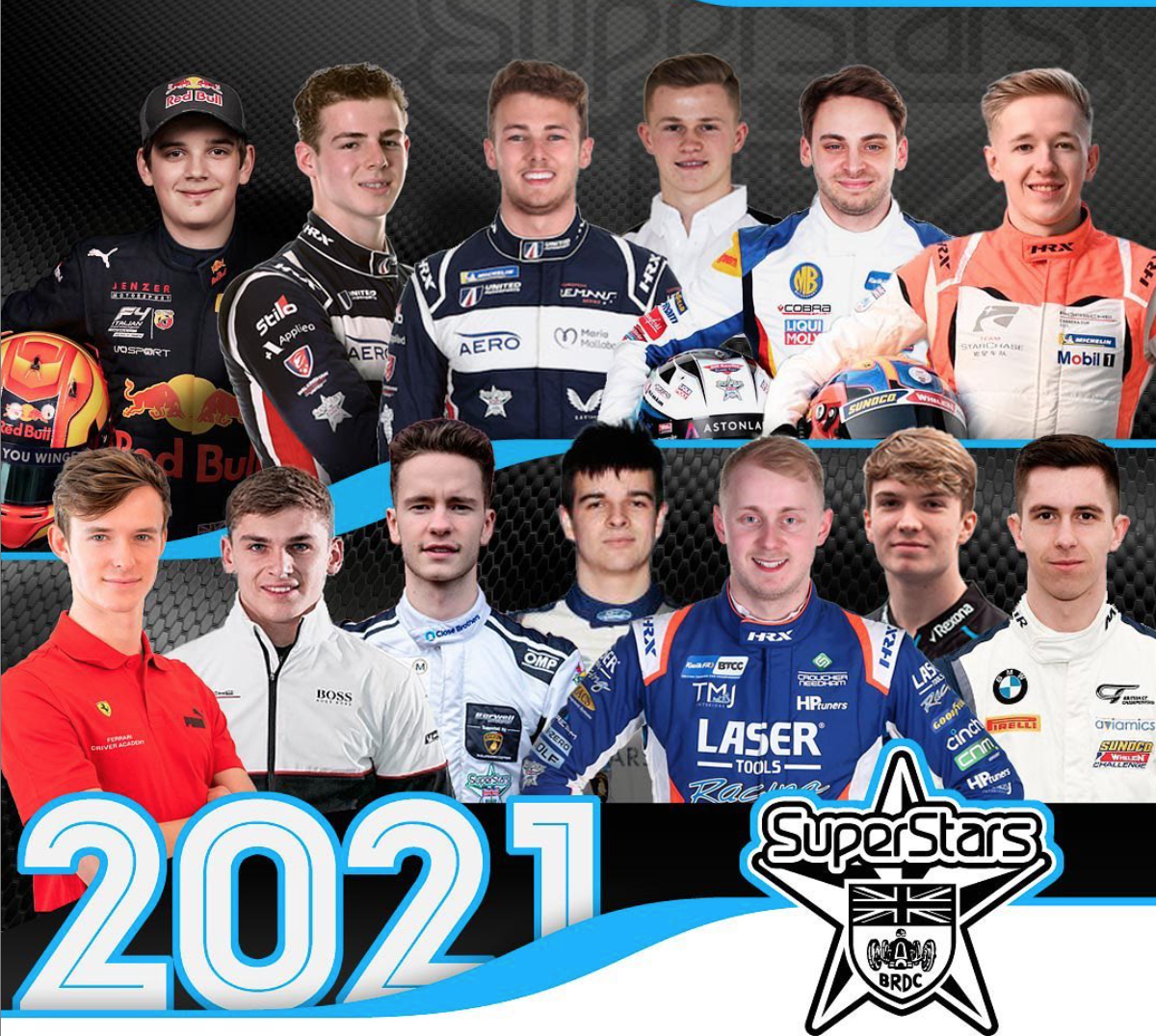 Baker's Dozen as BRDC SuperStars Class of 2021 Takes Shape