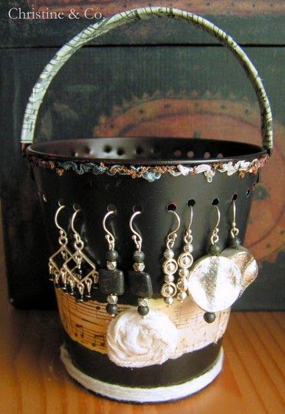 Jewelry Pail Organizer