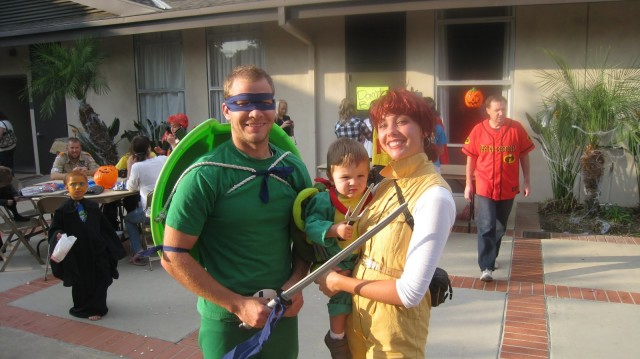 family costume of tmnt