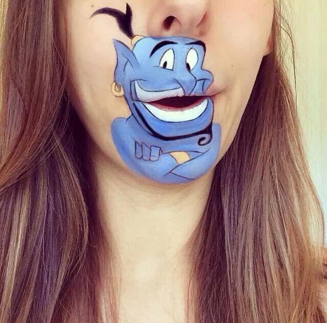 Aladdin makeup