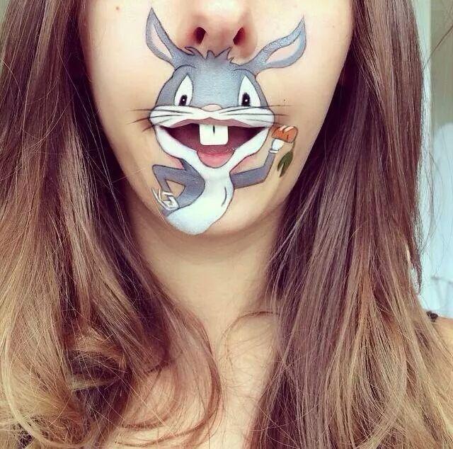 bugs bunny makeup
