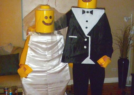 lego-bride-groom-halloween costume
