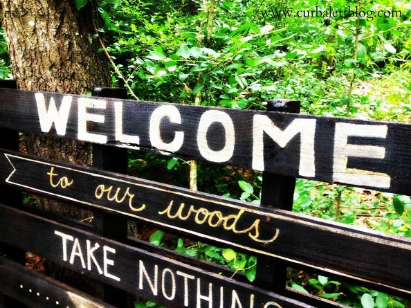 welcome-to-our-woods-pallet-sign-crafts-outdoor-living-pallet.1