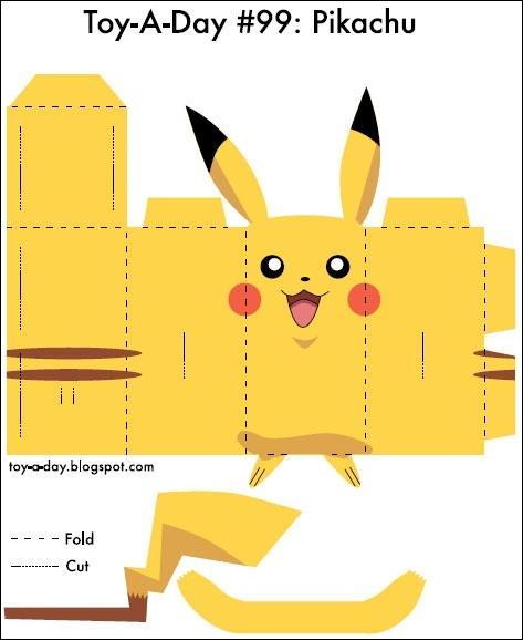 Pikachu CUTOUT