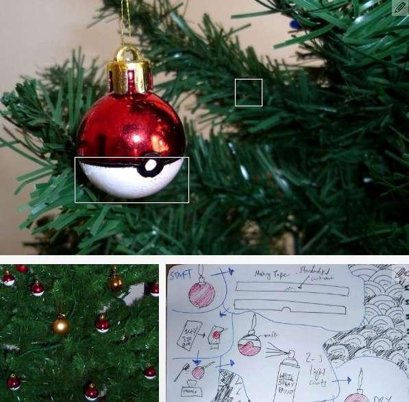 Pokeman Christmas Tree Ornaments