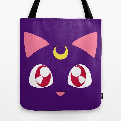 Sailor Moon Luna Tote Bag/ Handbag