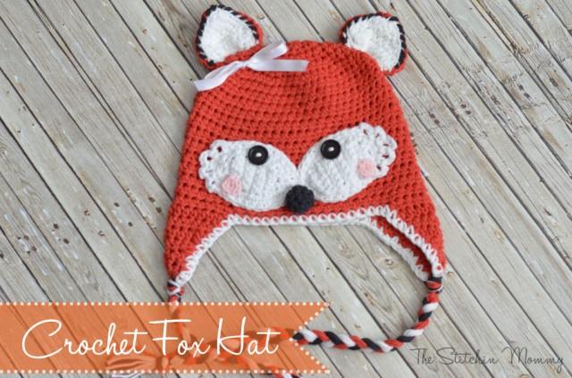 Crochet Fox Hat The Stichin Mommy